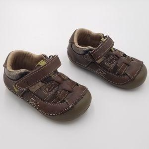 Stride Rite Brown Sandals 4T